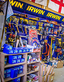 A selection of Irwin tools