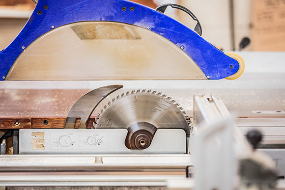 Great Barr Sawmills - Circular saw