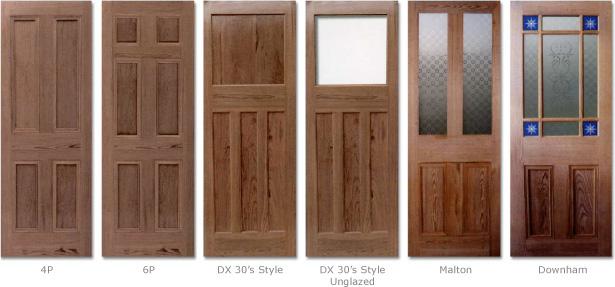 Doors Pitched pine 4P 6P DX 30u0027s style Malton Downham & DOORS | Great Barr Sawmills Birmingham - Wood Timber Hardwood ...