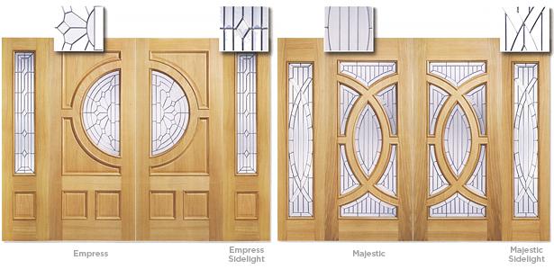 Doors - Empress Empress Sidelight Majestic Majestic Sidelight & DOORS | Great Barr Sawmills Birmingham - Wood Timber Hardwood ...